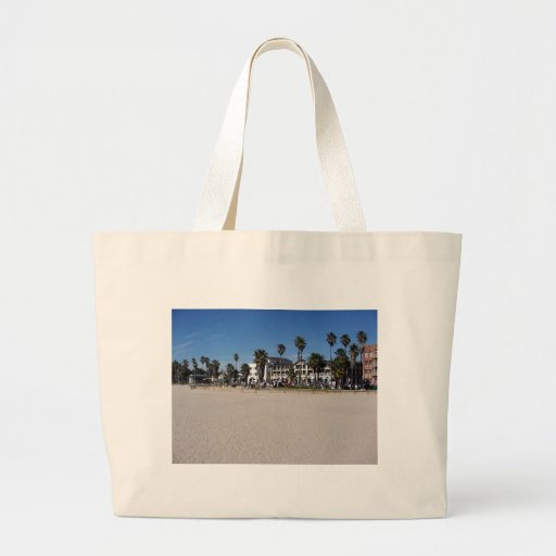 Venice Beach Drummers Tote Bags