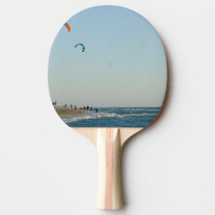 Venice Beach Kite Surfers Ping Pong Paddle