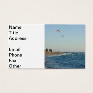 Venice Beach Kite Surfing Business Card