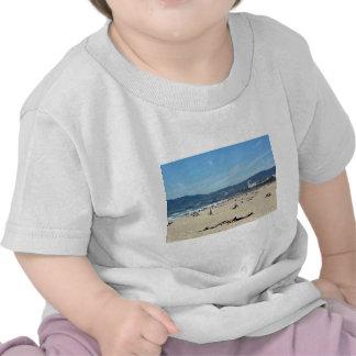 Venice Beach Looking North On With The Santa Monic Shirt