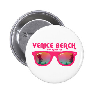 Venice beach Los Angeles Pinback Button