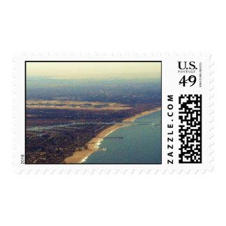 Venice Beach, Marina del Rey, LAX Postage Stamps
