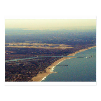 Venice Beach, Marina del Rey, LAX Postcard