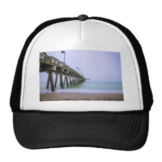 Venice Beach Pier on a Foggy Day Trucker Hat