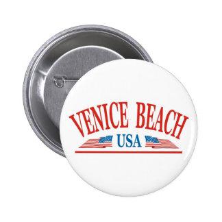Venice Beach Pinback Button
