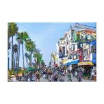 Venice Beach Promenade Gallery Wrap Canvas