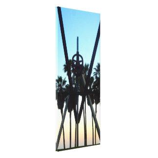 Venice Beach Sky California Photo Canvas Print