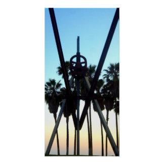 Venice Beach Sky California Souvenier Photo Poster