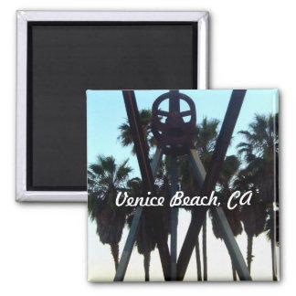 Venice Beach Sky Los Angeles California Photo Magnet