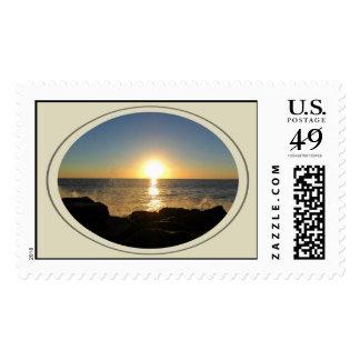 Venice Beach Sunset 2 Stamp
