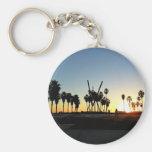 Venice Beach Sunset Key Chain