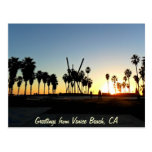 Venice Beach Sunset Post Cards