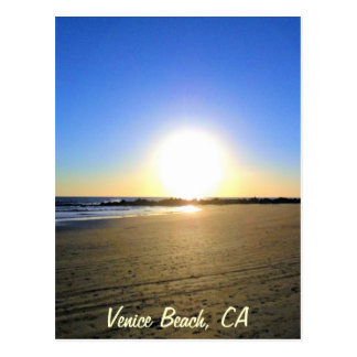 Venice Beach Sunset Postcards
