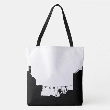 Beach Themed Venice beach tote bag