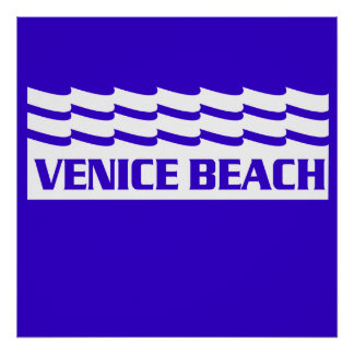 Venice Beach Waves Posters