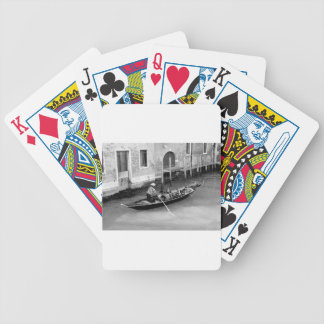 Venice Bicycle Playing Cards