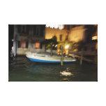 Venice boats. canvas print