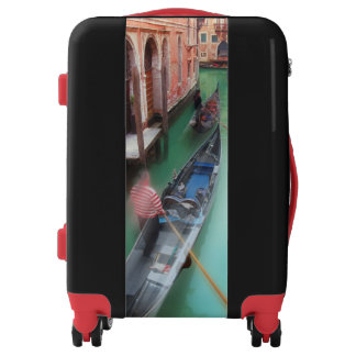 Venice Boats Suitcase Luggage