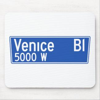 Venice Boulevard, Los Angeles, CA Street Sign Mouse Pad