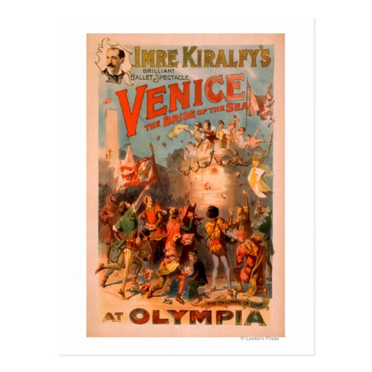 Venice, Bride of the Sea at Olympia Ballet Postcard