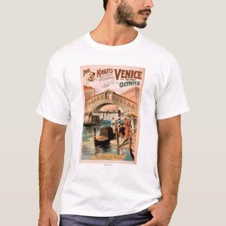 Venice, Bride of the Sea at Olympia Gondolas 2 T-Shirt