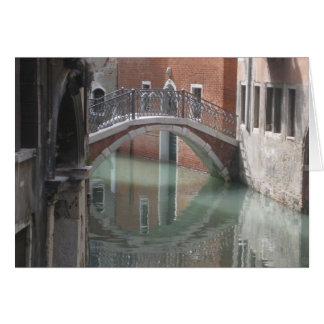 Venice bridge - notecard