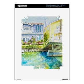 Venice Bridge Skin For iPad 3