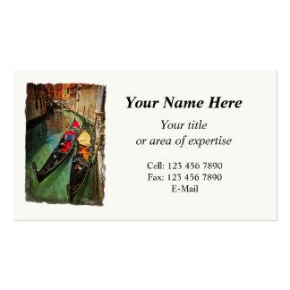 Venice Business Card with 2014 calendar