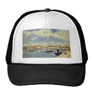 Venice by Eugene Boudin Trucker Hat