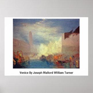 Venice By Joseph Mallord William Turner Poster