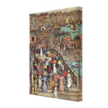 Venice by Prendergast, Vintage Post Impressionism Canvas Prints