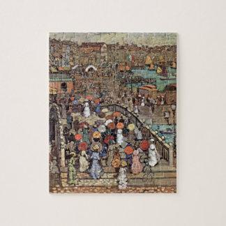 Venice by Prendergast, Vintage Post Impressionism Puzzle