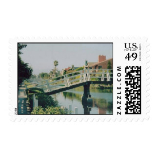Venice Canal, California Postage