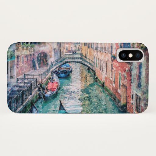 Venice Canal iPhone X Case