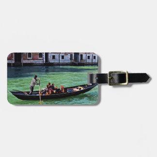 Venice Canal & Gandola with Love Quote Bag Tag