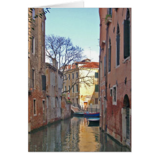Venice - Canal Greeting Card