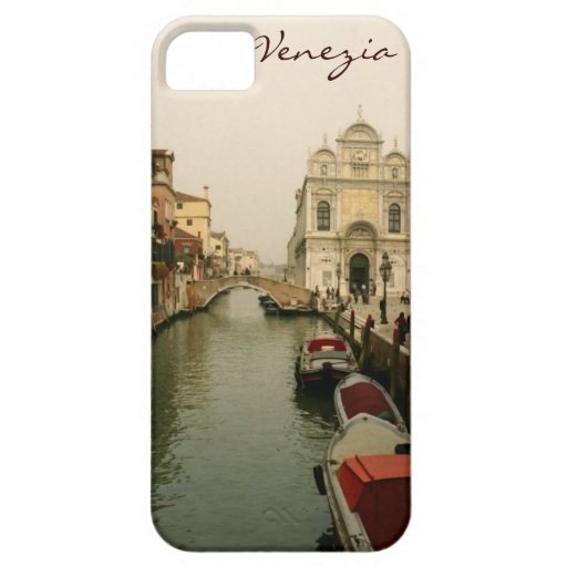 Venice Canal iPhone 5 Barely There Case-Mate iPhone 5 Cases