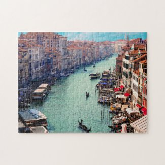 Venice Canal Italy Jigsaw Puzzle