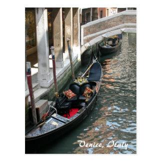 Venice Canal, Italy Postcard