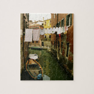 Venice Canal Laundry Puzzle