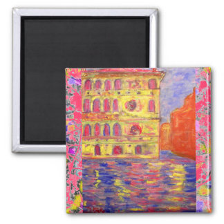 venice canal light drip 2 inch square magnet