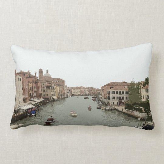 Venice Canal Lumbar Pillow