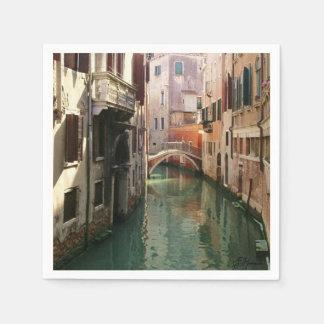 Venice Canal Napkin