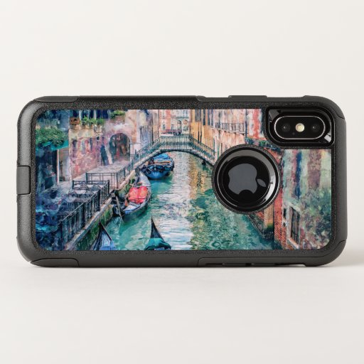 Venice Canal OtterBox Commuter iPhone X Case
