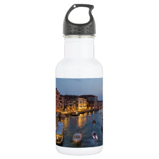 VENICE CANAL STAINLESS STEEL WATER BOTTLE