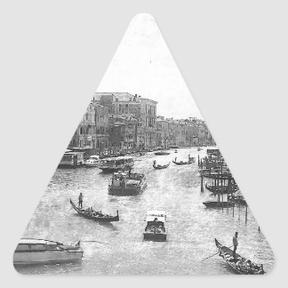 Venice Canal Triangle Stickers