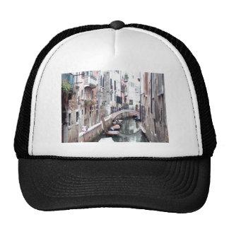 Venice canal trucker hat