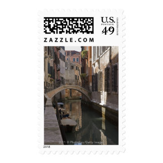 Venice Canals and Stone bridge Postage