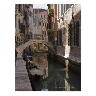Venice Canals and Stone bridge Postcards