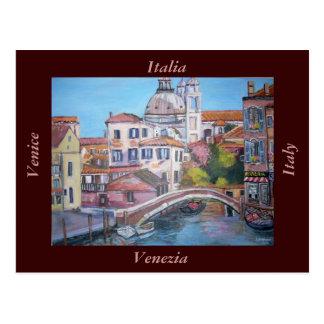 Venice Canals, Italy - Postcard Postcard